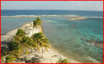 Tip of Half Moon Caye